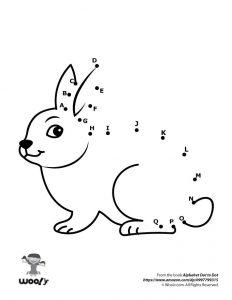 Easter Bunny Dot to Dot