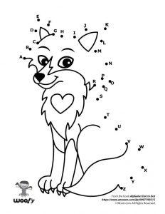 Cute Fox Dot to Dot