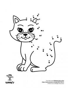 Kitten Dot to Dot