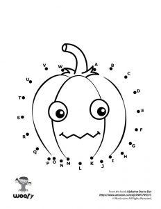 Halloween Pumpkin Dot to Dot