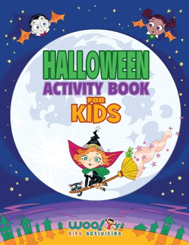 Halloween Activity Book for Kids – With Printable Sample Pages