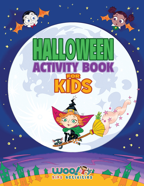 image regarding Printable Activity Books titled Halloween Game E-book for Young children - With Printable Pattern