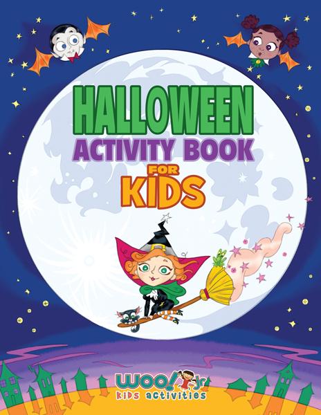 halloween activity book for kids - Kids Activities Book