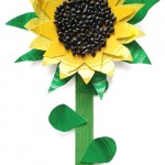 Sunflower Paper Plate Craft