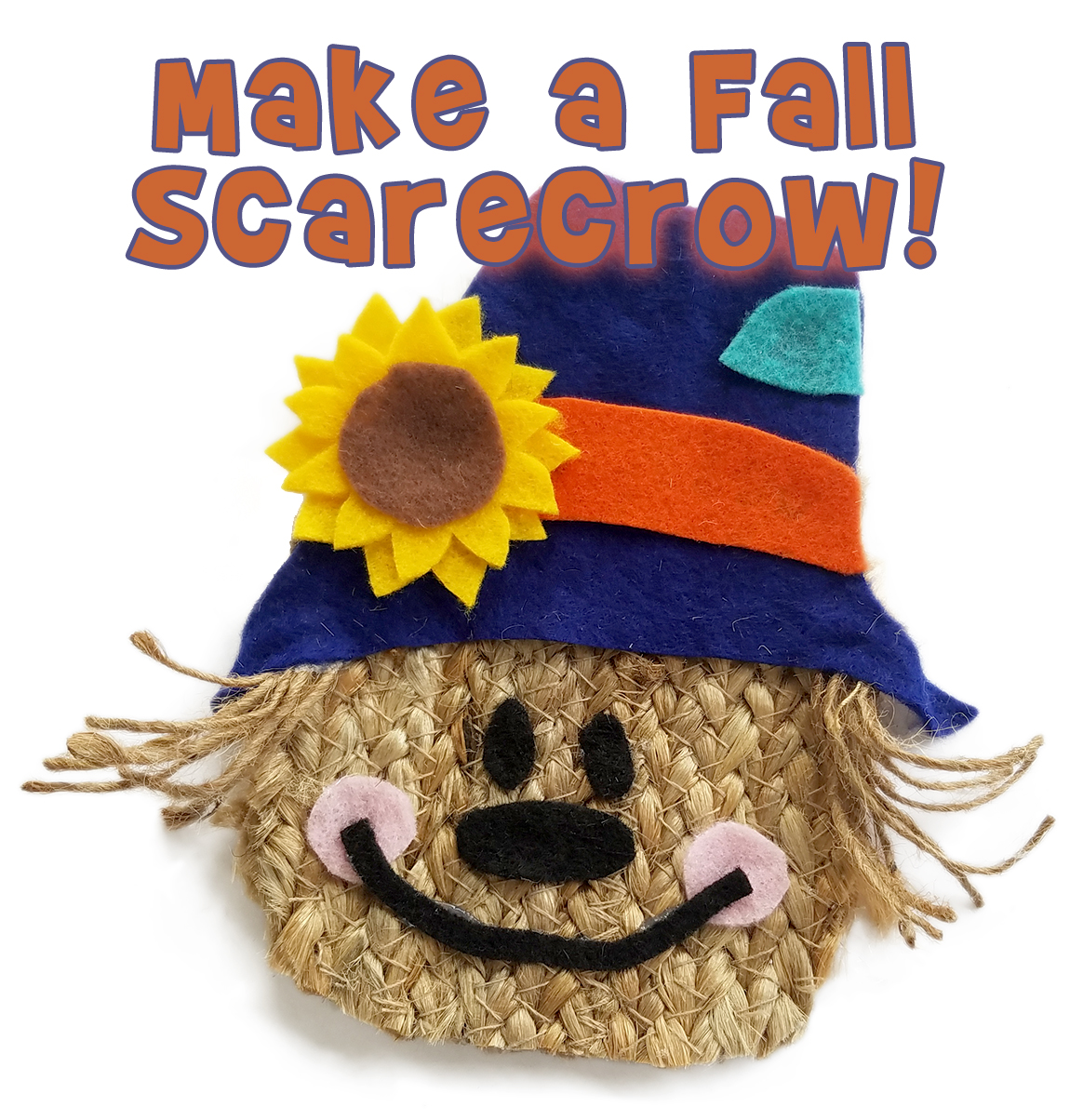 Fall Scarecrow Kids Craft