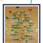Art Nouveau for Kids:  Pattern Stamping Inspired by Gustav Klimt