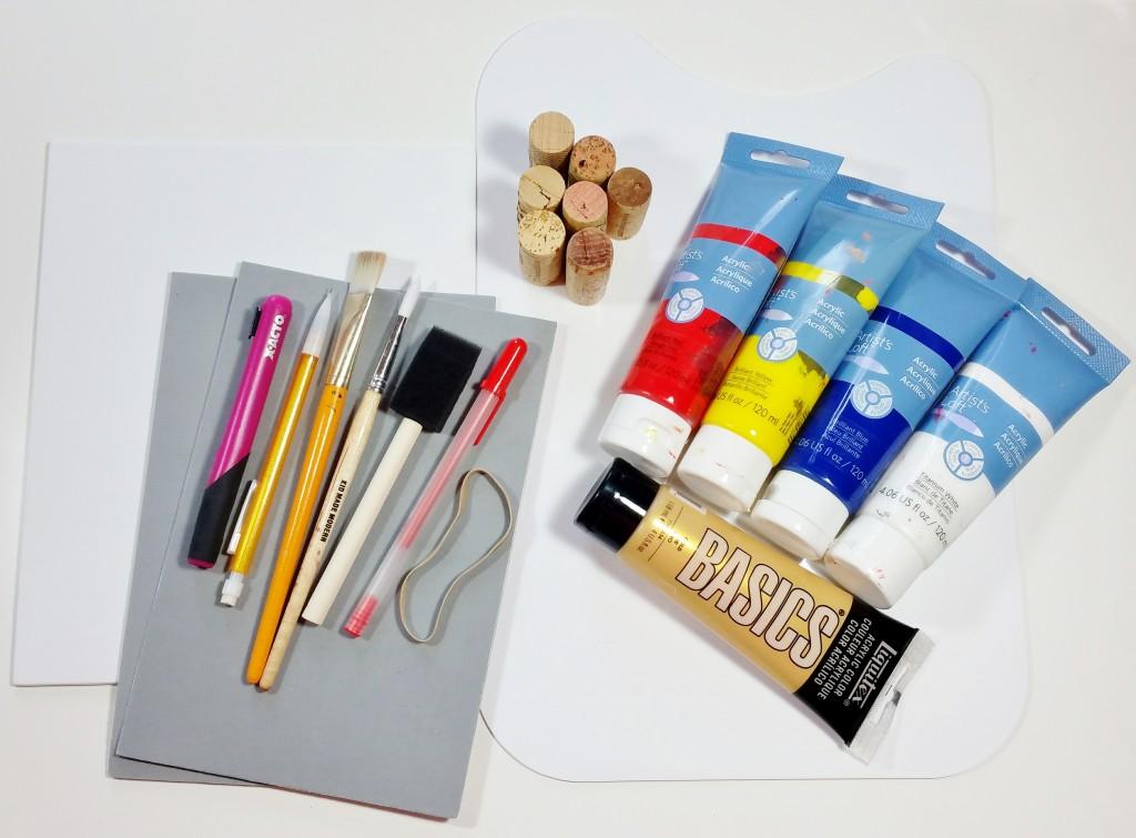 klimt-art-project-supplies