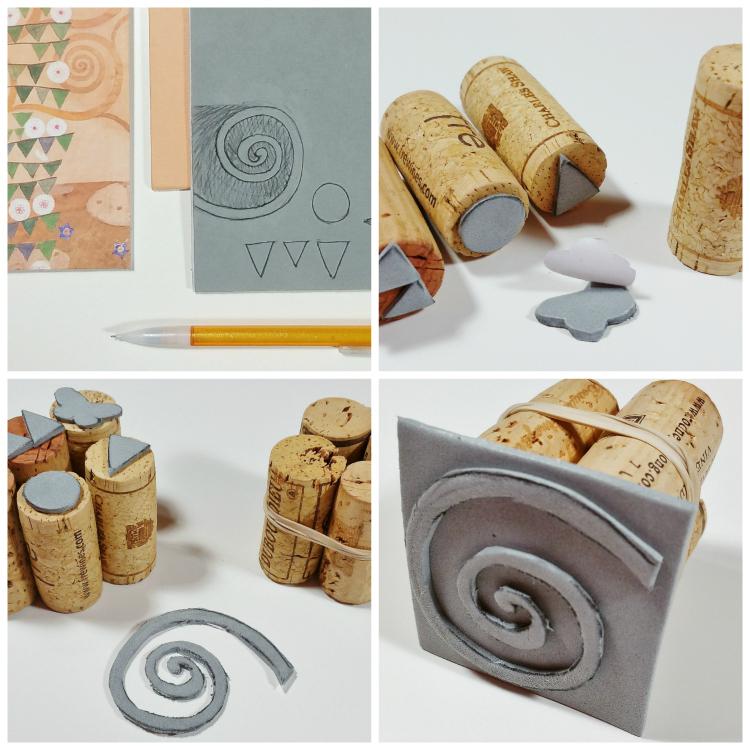 klimt-stamps