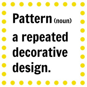 pattern-definition
