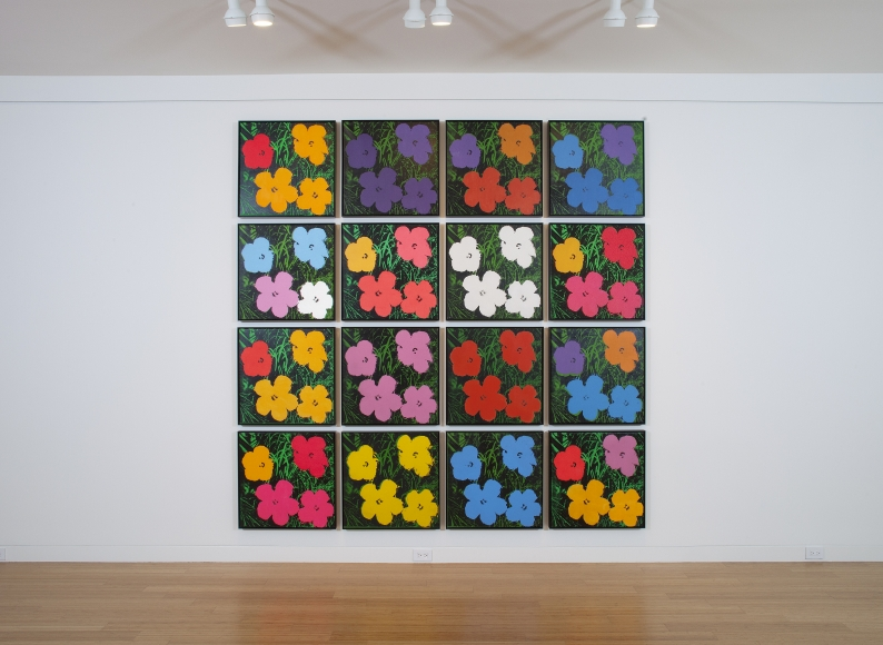 warhol-flower-display