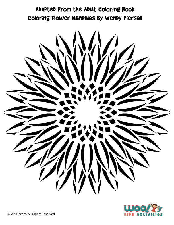 Sunflower Pumpkin Stencil Woo