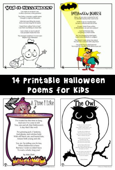 Halloween Poems for Kids