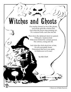 Witches and Ghosts by Ada Clark