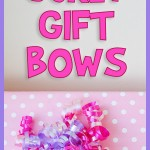 DIY Curly Gift Bows Tutorial