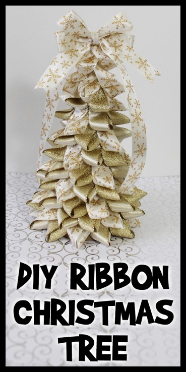 DIY Ribbon Christmas Tree