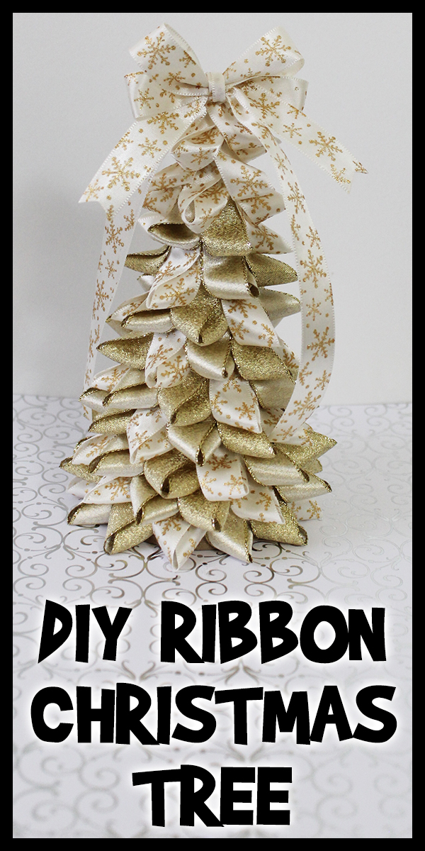 DIY Ribbon Christmas Tree Woo