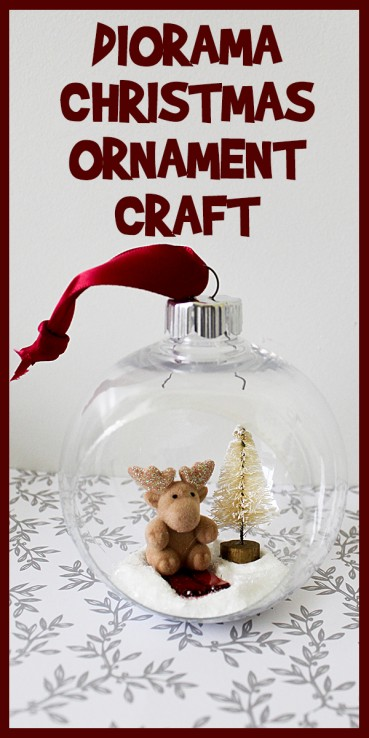 Diorama Christmas Ornament Craft