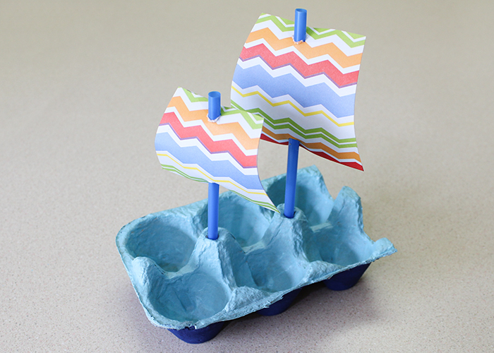 Egg Carton Crafts Part - 39: Mayflower-boat-craft-8