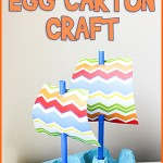 Mayflower Boat Egg Carton Craft