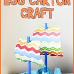 Mayflower Boat Egg Carton Craft
