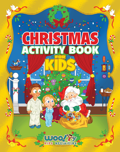Christmas Activity Book for Kids by Woo! Jr.