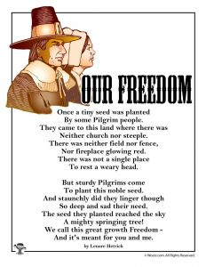 Our Freedom Poem for Kids