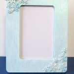 Winter Snowflake Photo Frame Craft