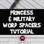 Word Spacer Kids Craft for Easier Book Reading