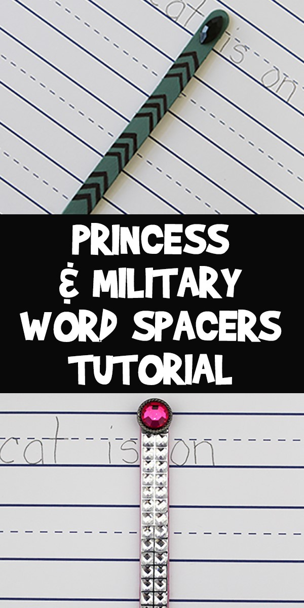 Word Spacer Kids Craft for Reading Books