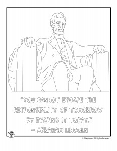 Free Abraham Lincoln Coloring Sheets, Download Free Clip Art, Free ... | 300x232