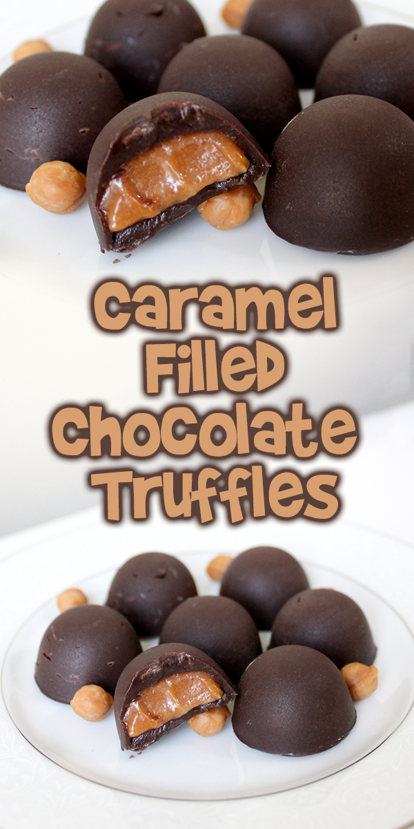 Caramel Filled Chocolate Truffles Woo Jr Kids Activities