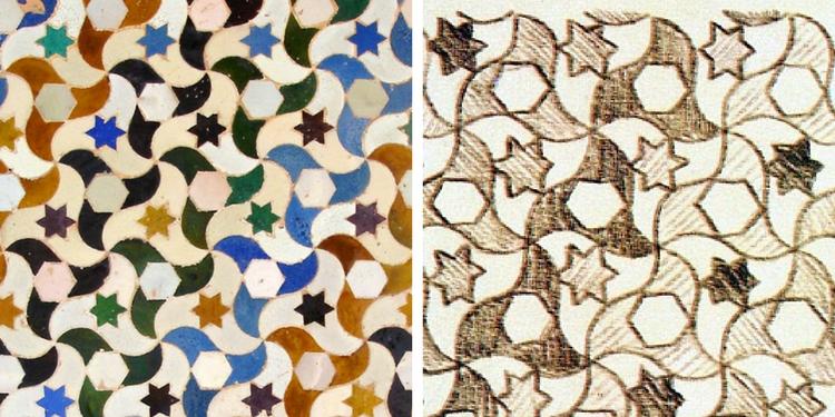 Escher Alhambra Sketch