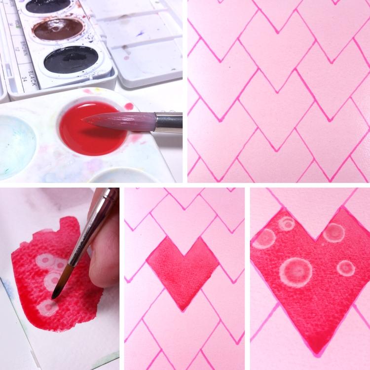 Escher Paint Steps