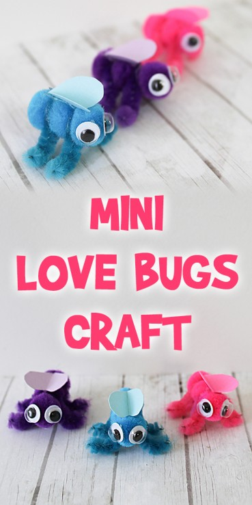 Mini Love Bugs Craft