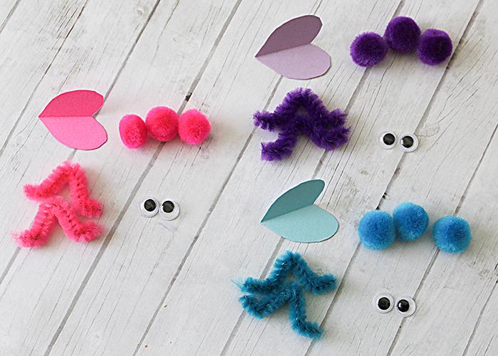 Mini Love Bugs Craft 5