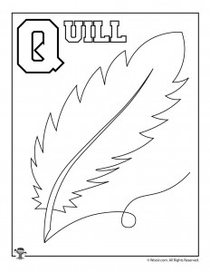 Q is for Quill