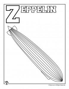 Z is for Zeppelin