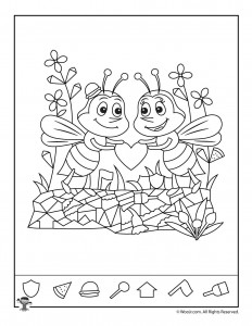 Valentines Day Hidden Pictures Activity Pages Woo Jr Kids