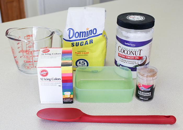 DIY Natural Sugar Scrub Cubes 2