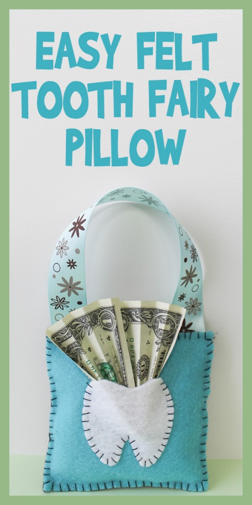Easy Felt Tooth Fairy Pillow Tutorial Woo Jr Kids