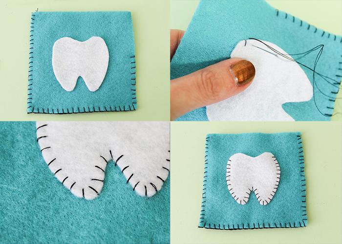 Easy Felt Tooth Fairy Pillow 6
