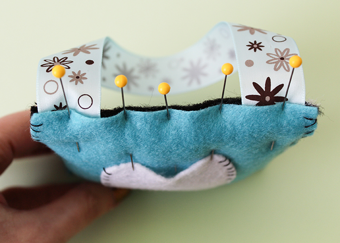 Easy Felt Tooth Fairy Pillow 8