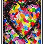 Pop Art For Kids: Painted Heart Inspired by Jim Dine