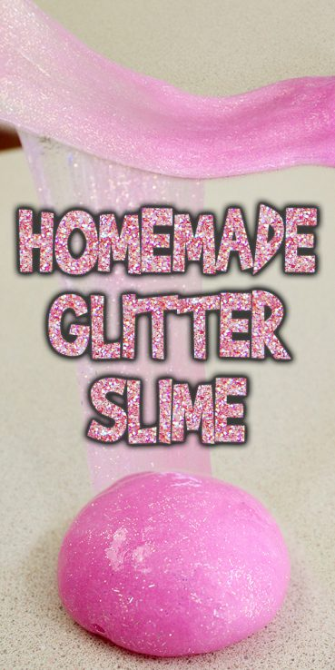 Homemade Glitter Slime Tutorial