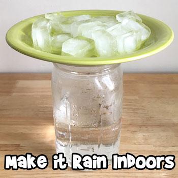 Make it Rain Indoors