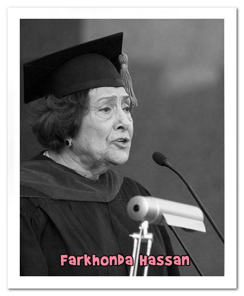 Farkhonda Hassan