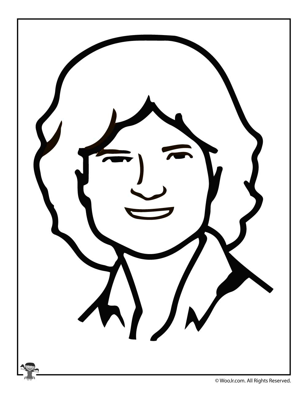 Sally Ride Coloring Page Woo