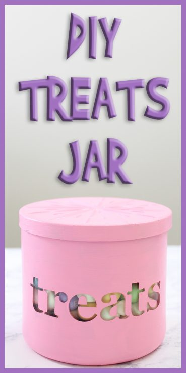 DIY Treats Jar