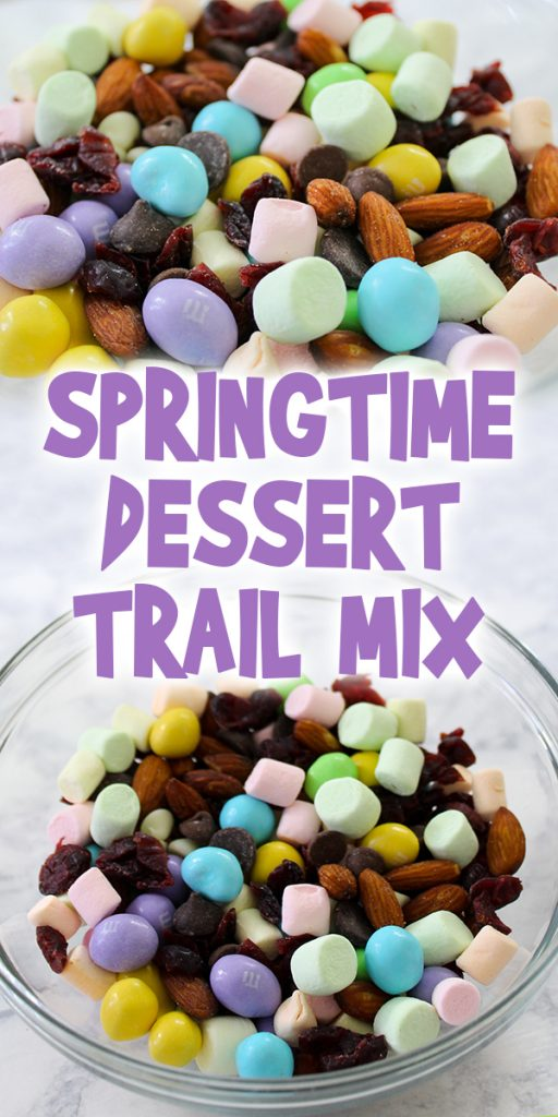Springtime Dessert Trail Mix
