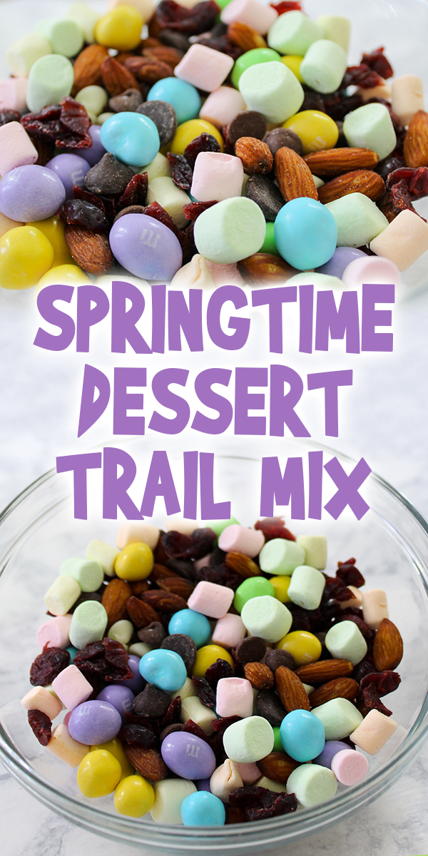 Springtime Dessert Trail Mix Woo Jr Kids Activities